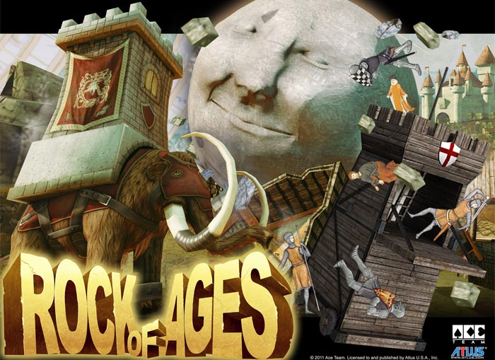 Ace Team sale a mostrar su nueva joya: Rock of Ages [Videos]