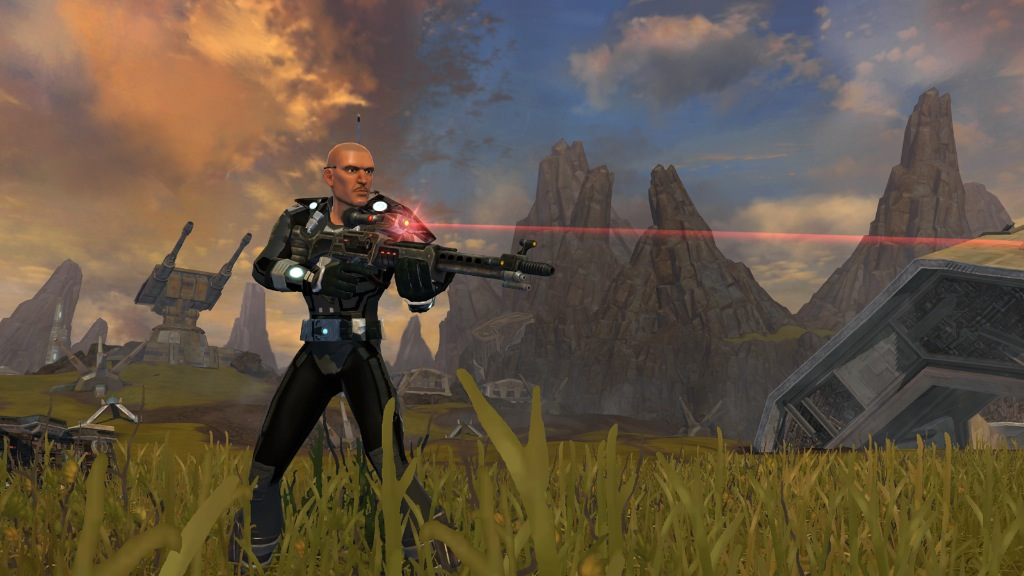 Se filtra el primer video gameplay de Star Wars: The Old Republic [Sin Audio…]