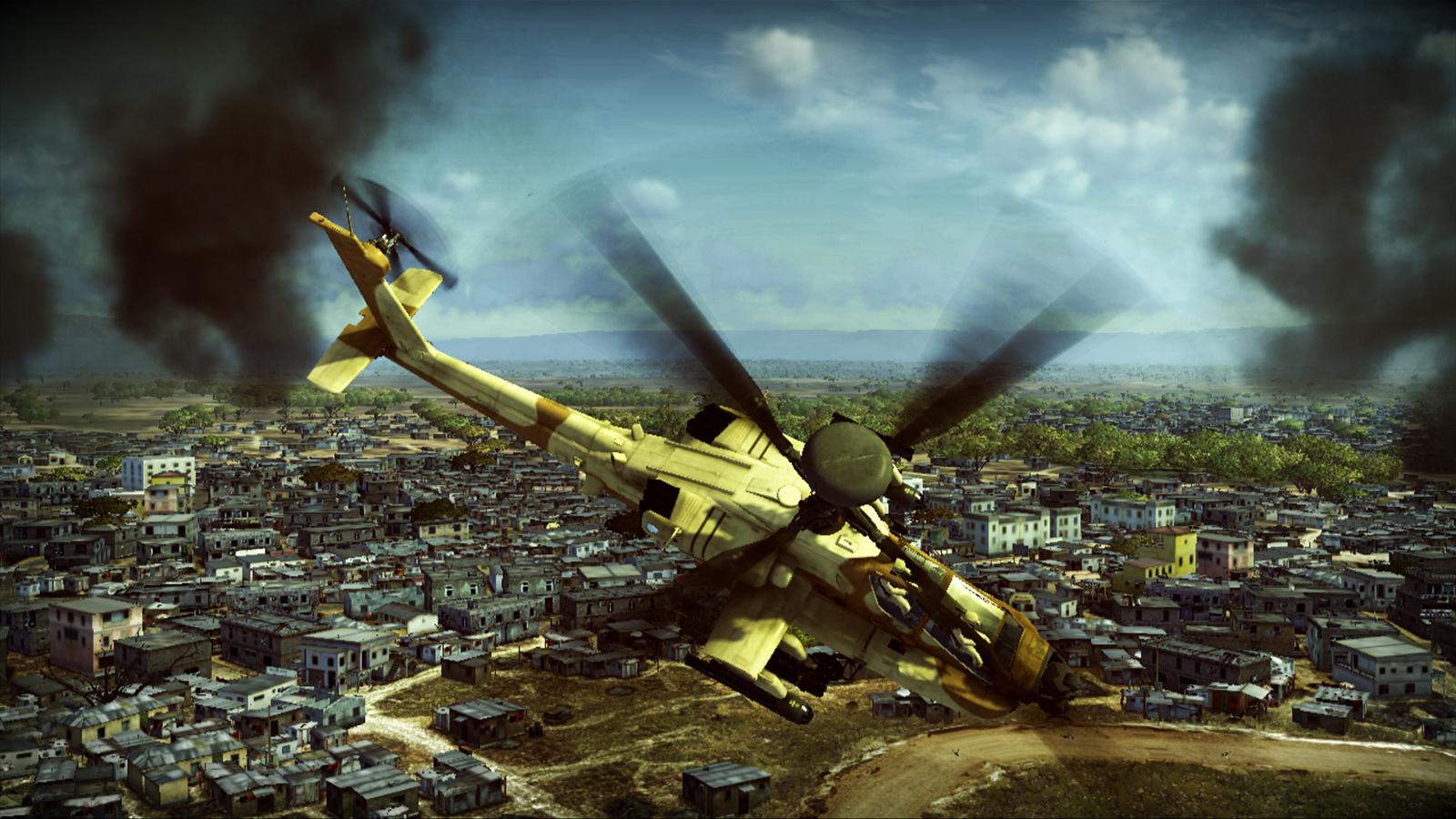 Apache: Air Assault, de los creadores de IL-2 Sturmovik: Birds of Prey. [Imagenes]