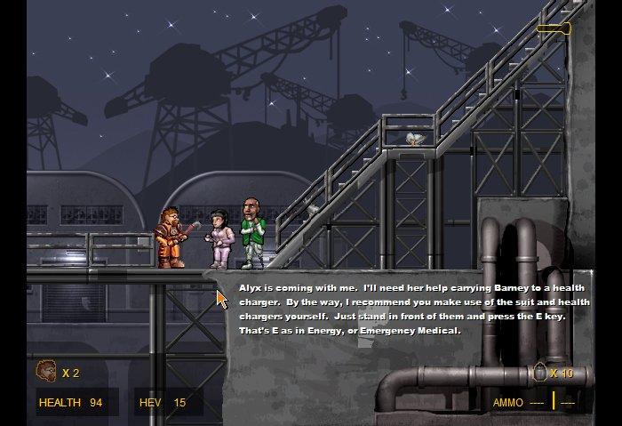Como jugar Codename: Gordon [Half-Life 2D]