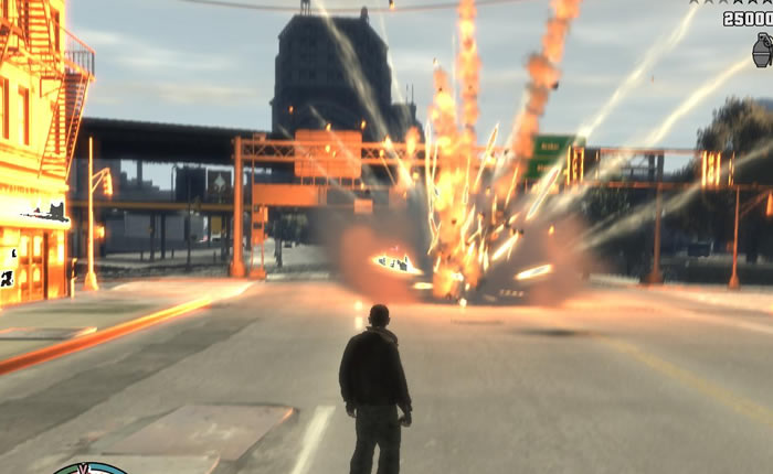 Fallido intento de incendio inspirado en Grand Theft Auto [Nunca faltan]