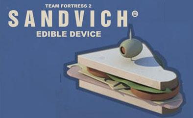 Hoy lunes, desayuno un Sandvich estilo TF2 [Fan Made]