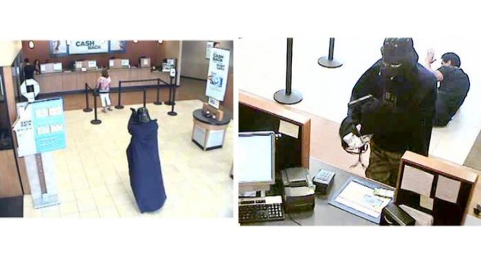 A lo que hemos llegado: Darth Vader asaltando un Banco [Idioteces!]