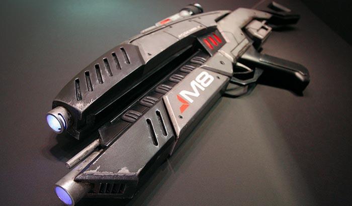 Hoy en Hágalo Usted Mismo!: Cómo hacer un réplica del rifle M8 de Mass Effect [OMG!]