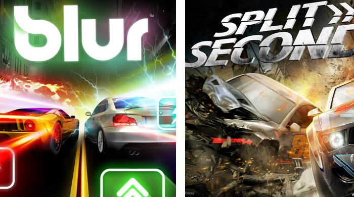 LagZero Compara: Blur v/s Split Second [Mario Kart de machos]