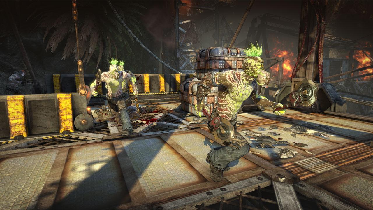 Bulletstorm, promete escopetas y enemigos gigantes [Gamescom]