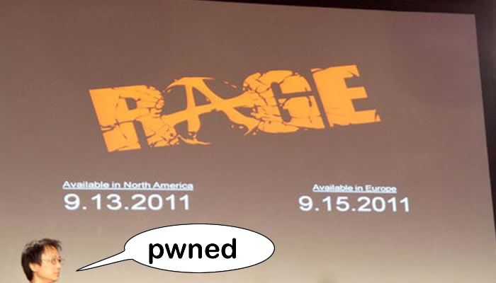 Rage, ya tiene confirmada su fecha de salida [mas otros anuncios de la QuakeCon]