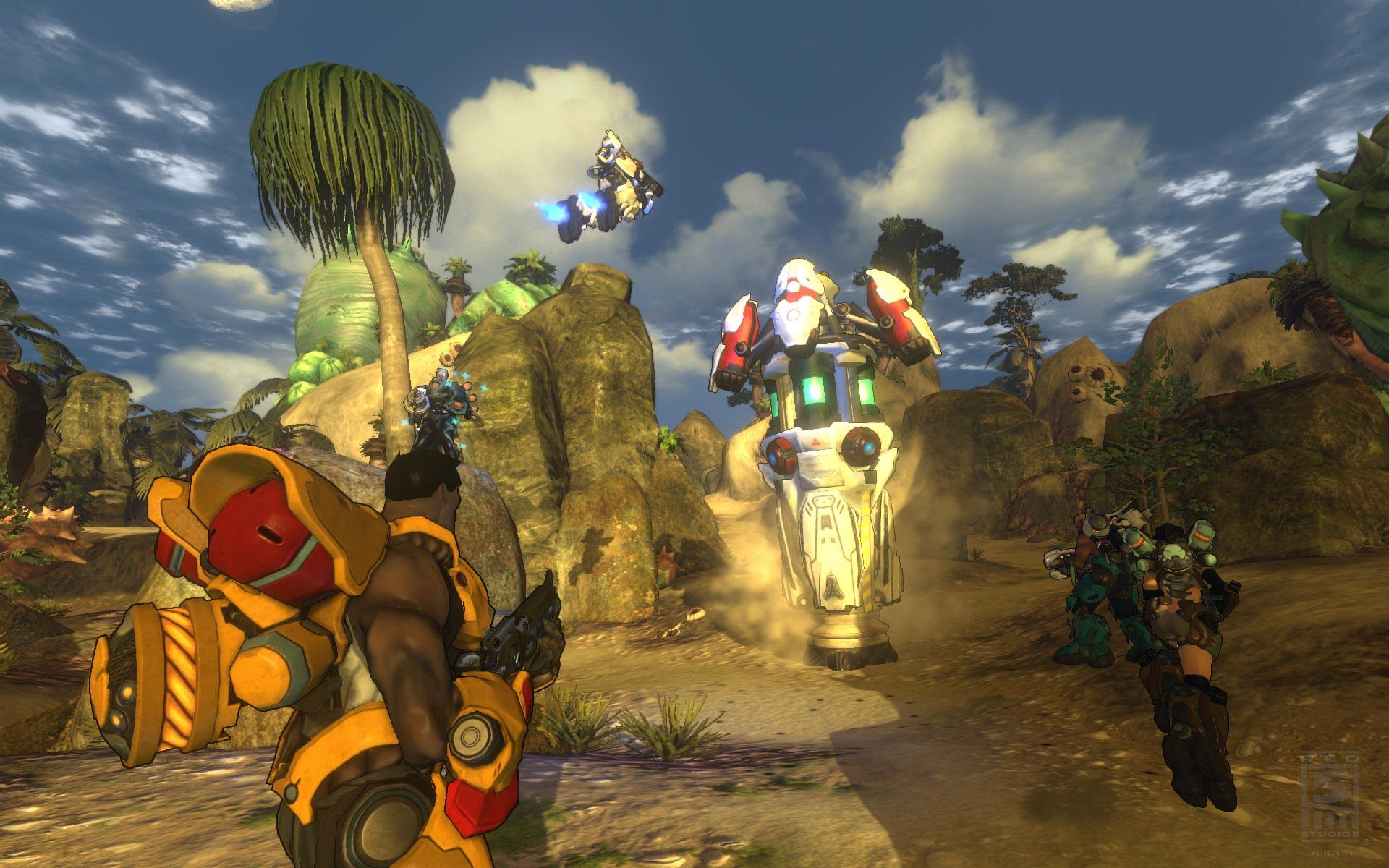 Firefall: un nuevo TPS multiplayer online con elementos persistentes [Videos]
