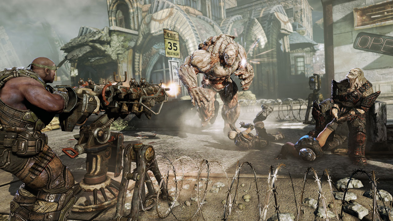 Estas screens de Gears of War 3 se ven puteras o qué? [Screenshots]