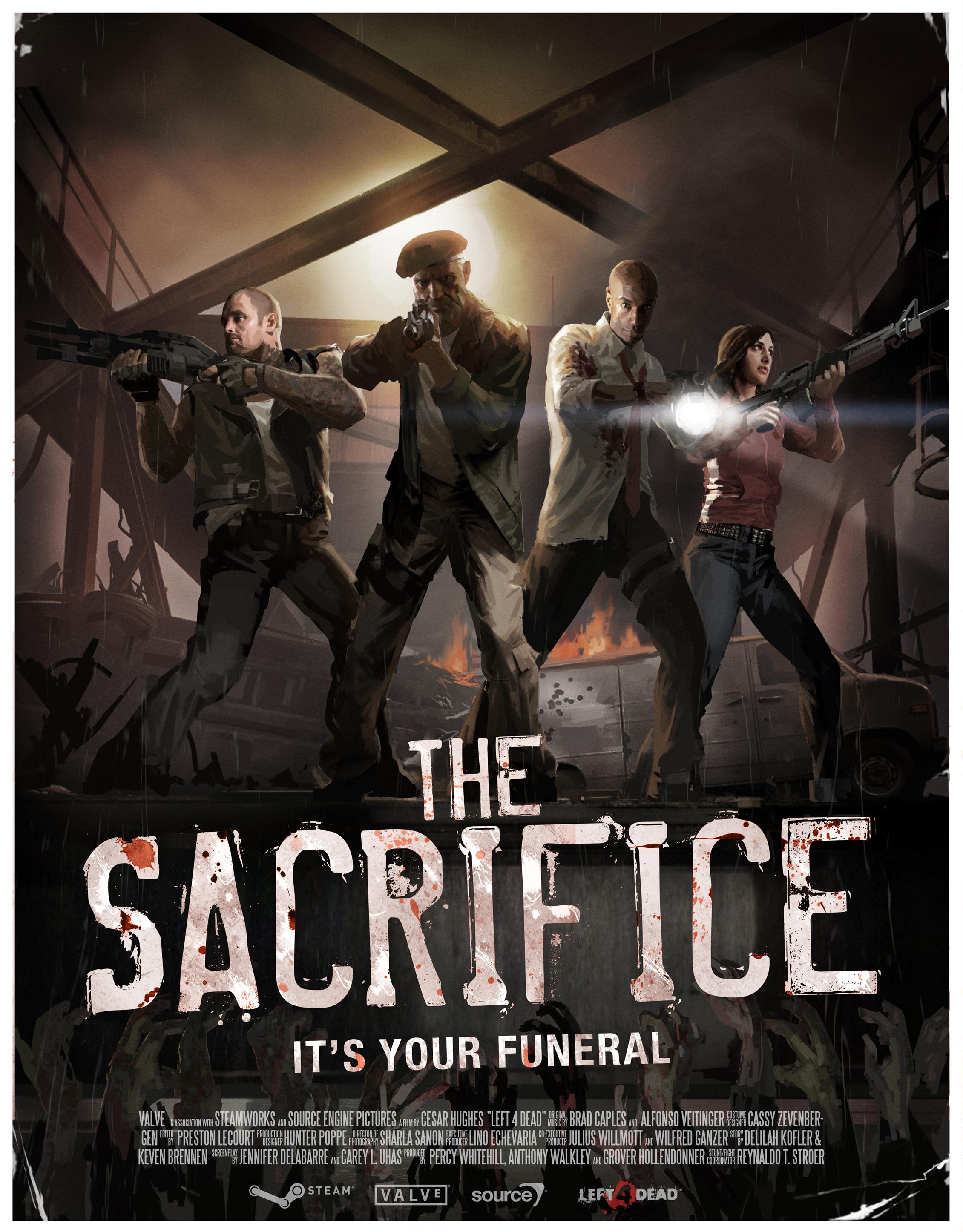 El dramático trailer de Left 4 Dead The Sacrifice: Es tu funeral! [Video]