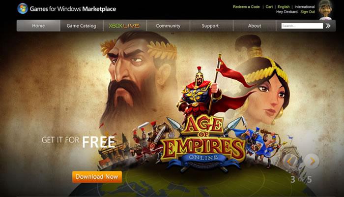 Microsoft anuncia nuevo sitio de ventas dirigido a juegos de PC [¿Steam clon?]