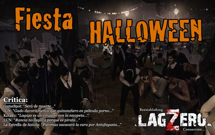 Maratón de Halloween: Matando a los editores de LagZero en Left 4 Dead 2 [Eventos!]