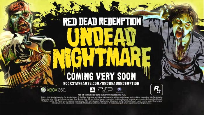 El trailer de lanzamiento de Undead Nightmare [Red Dead Redemption … COÑO]