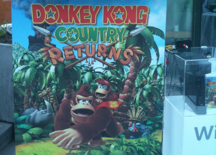 Lanzamiento Donkey Kong Country Returns [Evento]