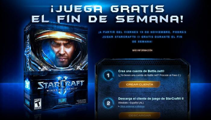 StarCraft 2 Gratis el fin de semana![RTS]