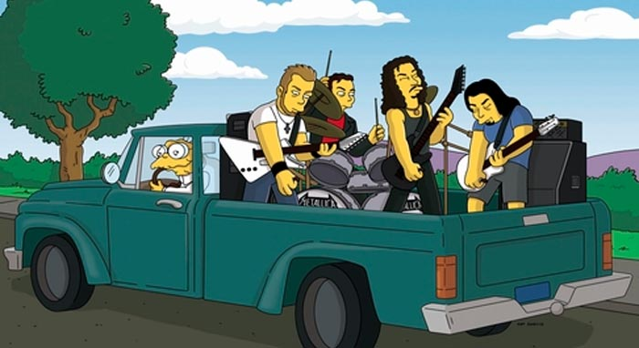 Metallica Simpsons