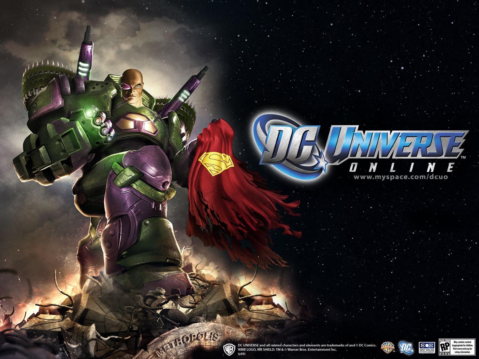 DC Universe Online ya tiene fecha y precio