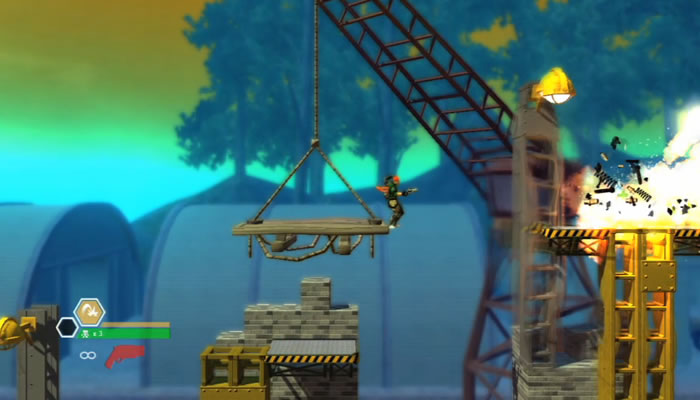 Bionic Commando Rearmed 2, preview del gameplay [Video]