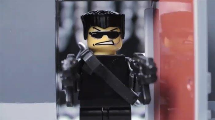 Dos de los mejores videos stop motion con lego: Lego Black Ops y Cardboard Gear Solid [JAJAJA]
