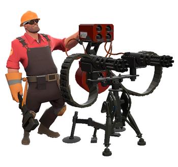Valve instala una Sentry Gun de TF2 en sus cuarteles generales… DE VERDAD [Video]