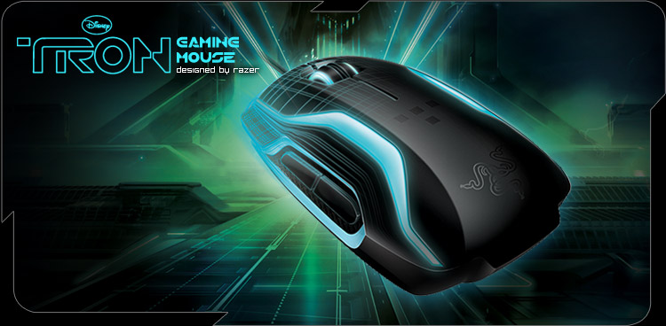Mouse gamer inspirado en Tron [Fotos y Video]