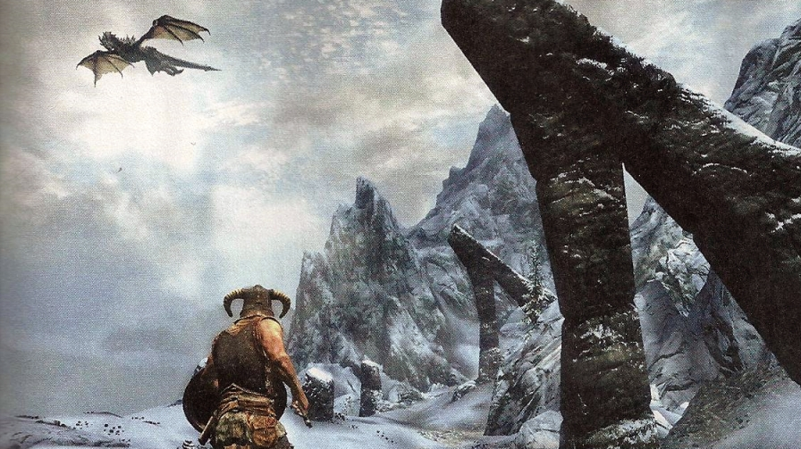 Video Gameplay de The Elder Scroll V: Skyrim
