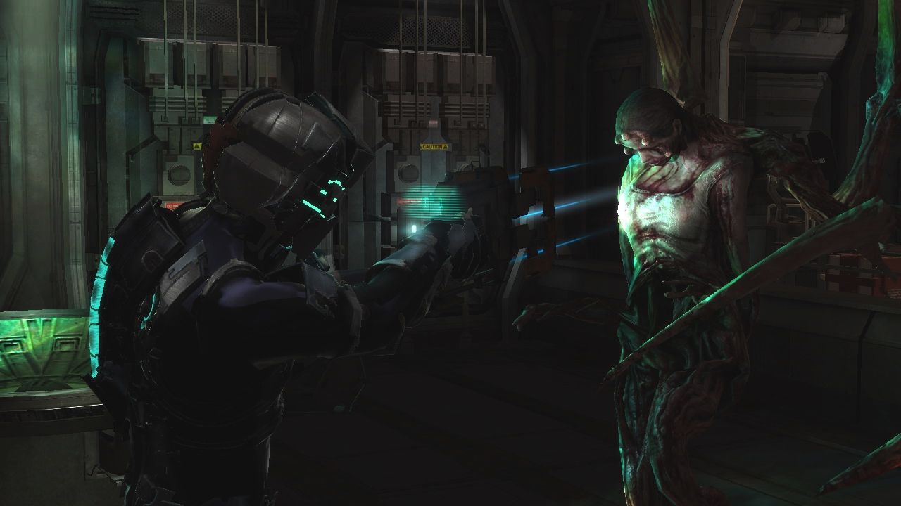 ME FUI A LA MIERDA: Seis gloriosos minutos de gameplay en Dead Space 2 [OMFG VIDEO]