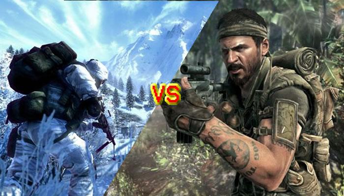Lo mejor de 2010 en LagZero: Battlefield: Bad Company 2 vs Call of Duty: Black Ops [1]