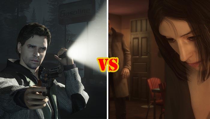 Alan Wake vs Heavy Rain