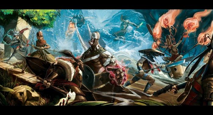 Trailer de lanzamiento de Bloodline Champions [MOBA]