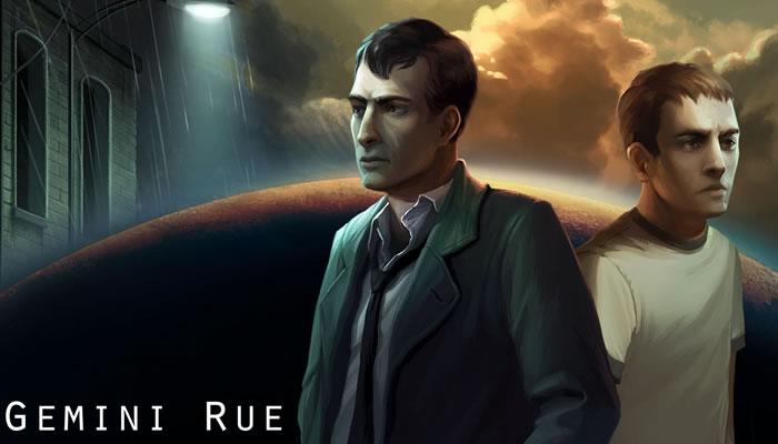 Gemini Rue, trae de vuelta las aventuras gráficas basadas en la ciencia ficción y el cine negro.