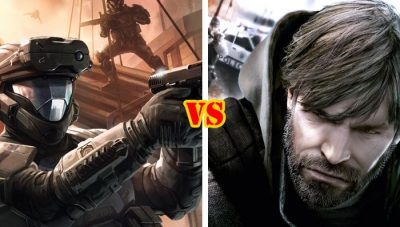 Halo Reach vs Splinter Cell Conviction
