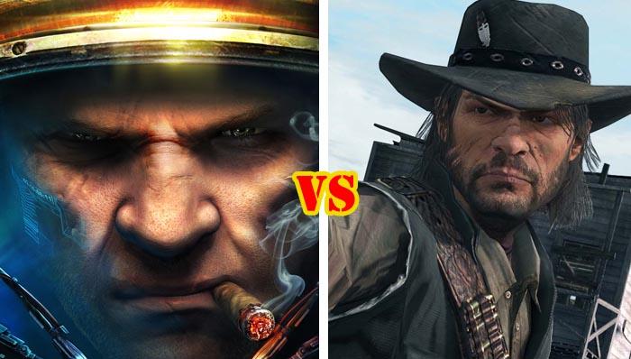 Starcraft 2 Vs Red Dead Redemption