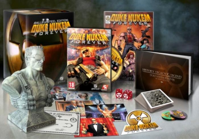 Duke Nukem Forever viene con las Pelotas de Acero [Ediciones Especiales]