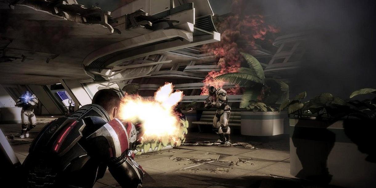 Hola, soy el comandante Sheppard y Origin es mi tienda favorita en la internet [Mass Effect 3 Deluxe]