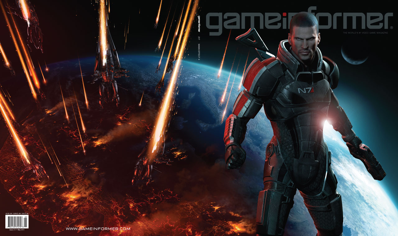 Sorpresa! Gameinformer revela Mass Effect 3 en la portada de su nueva edición [Foto]