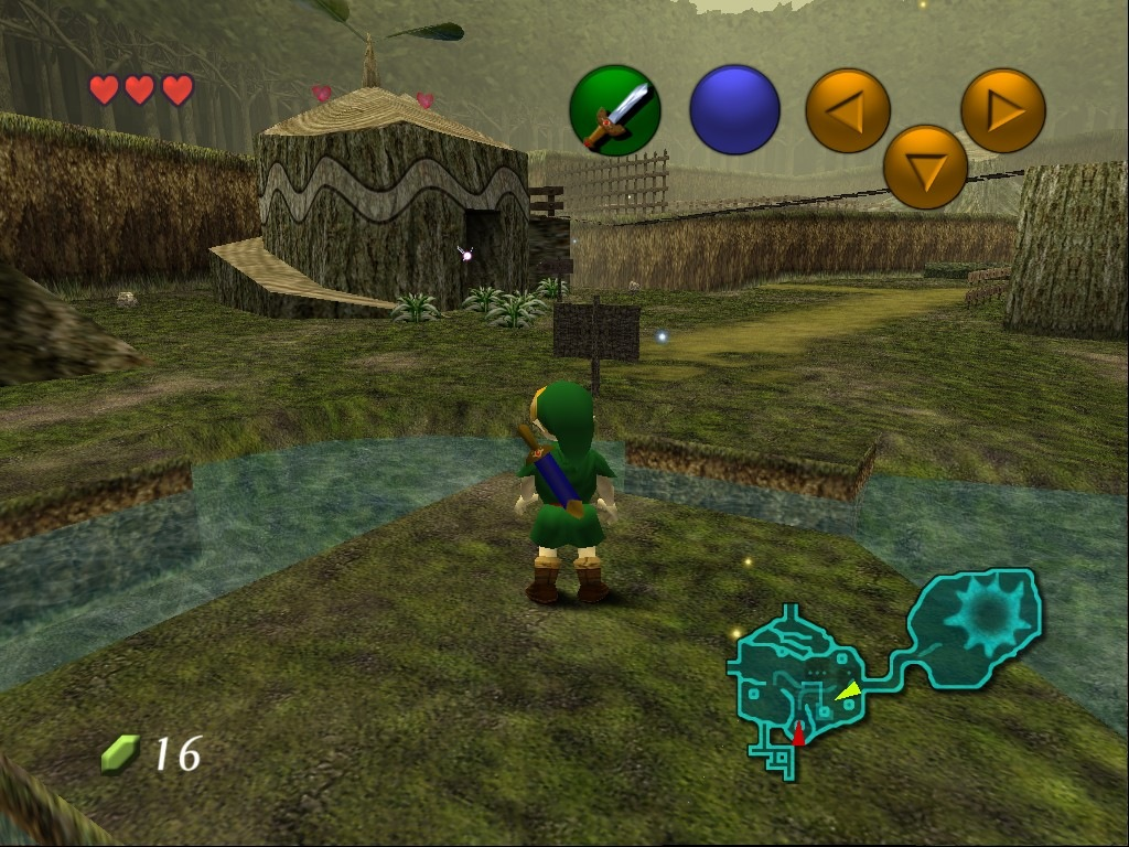 Comparativa de la intro de The Legend of Zelda: Ocarina of Time [3DS ROX!!!]