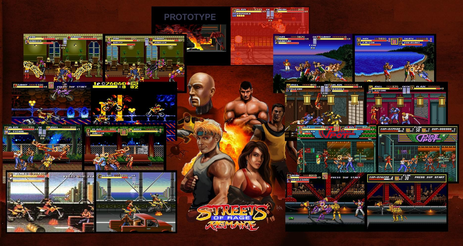 Street of Rage Remake finalizado y disponible para descarga [CHAAARGE!!!!]