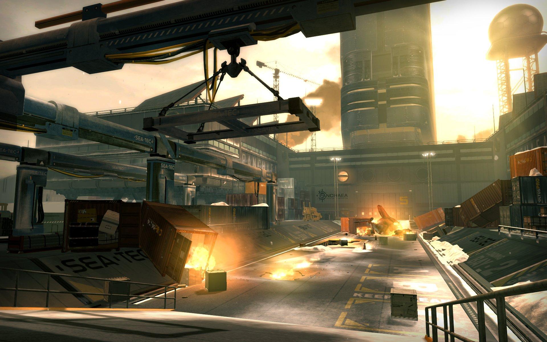 Deus Ex: Human Revolution, requerimientos para la versión PC y unas pocas imágenes