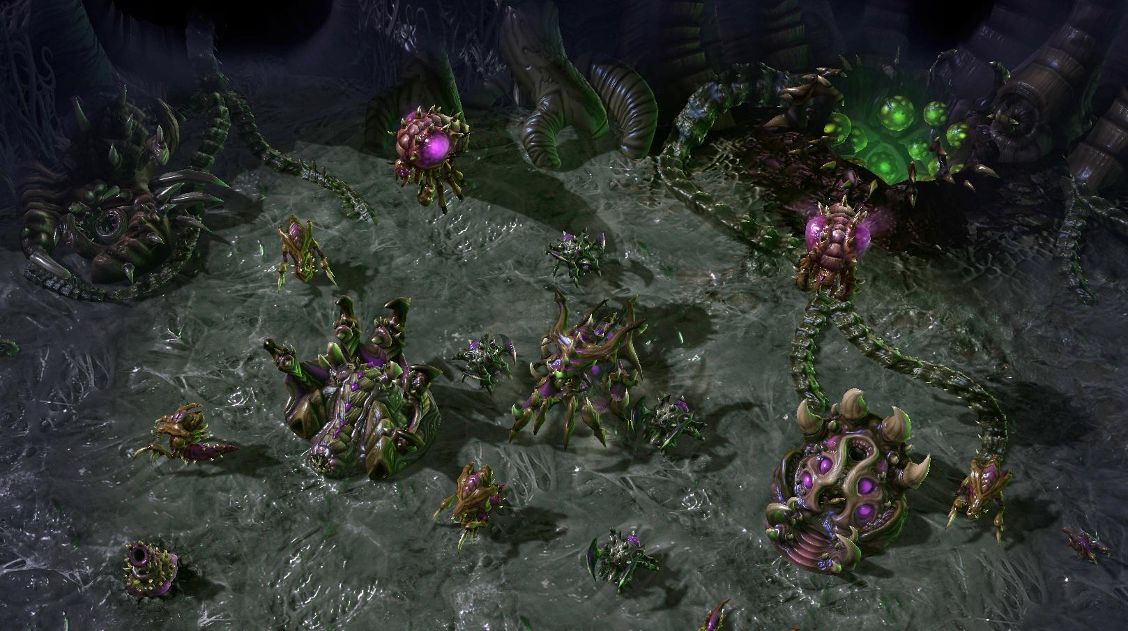 Imágenes de Starcraft 2: Heart of the Swarm y algunos detalles