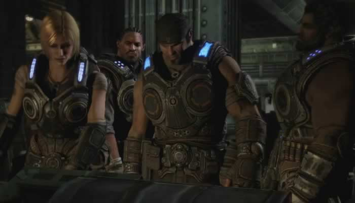 El trailer de la campaña de Gears of War 3 mostrado en la final de la Champions League