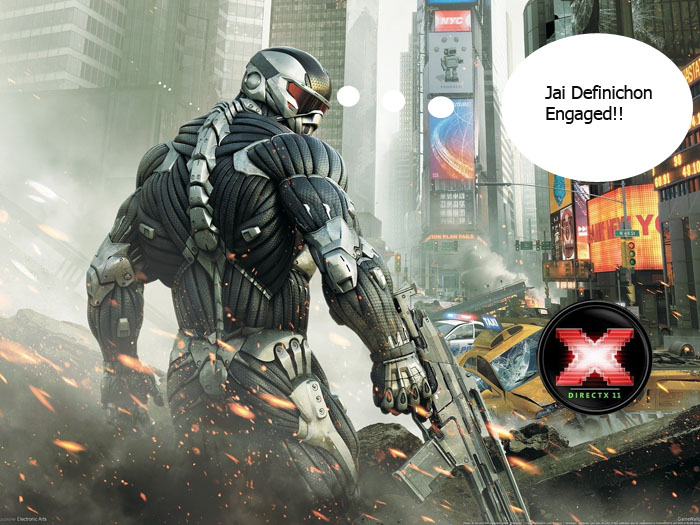 Crysis 2 potenciado por DirectX11 [FINALLY!!!]