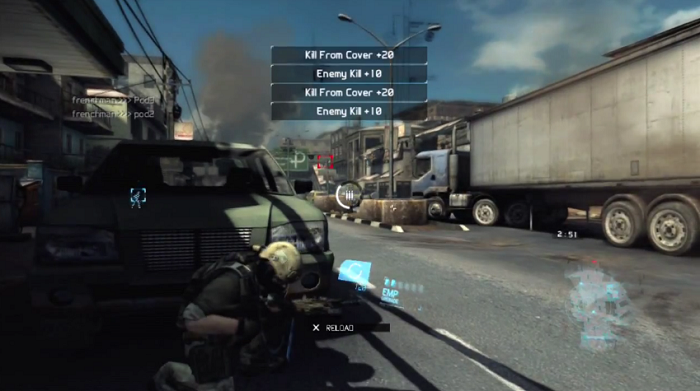 Primera mirada al modo multiplayer de Ghost Recon: Future Soldier [VIDEO]
