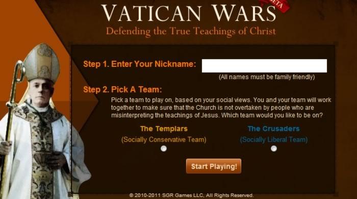 Juan Pablo II, sacúdete en tu cripta: VATICAN WARS HA LLEGADO