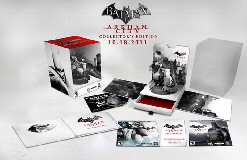 Batman: Arkham City, y su edición de coleccionista [Solo para coleccionistas]