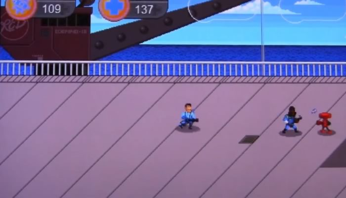 Team Fortress 2 demake, transformado en un Beat-em-up en 2D