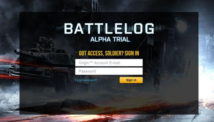 Ya esta arriba la pagina oficial de Battlelog, aunque aun no se puede usar