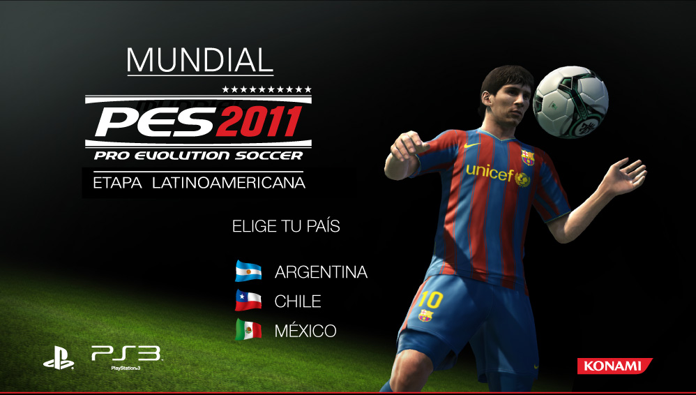 Mundial de Pro Evolution Soccer 2011 [Solo PS3]