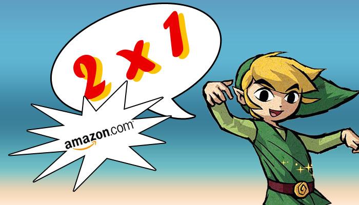 Lleve 2 juegos y pague 1 gracias a Amazon