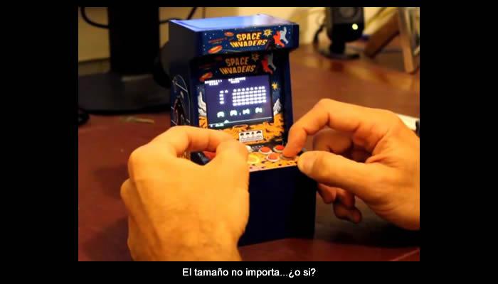 La máquina arcade más pequeña del mundo [Win!]